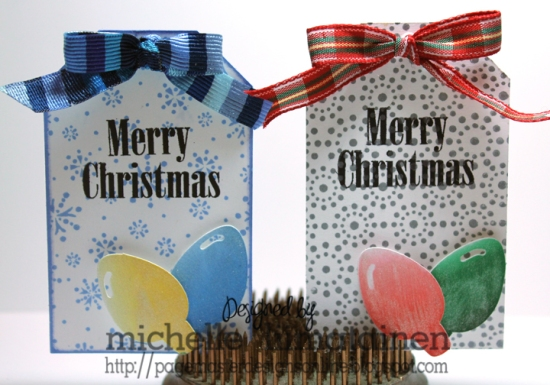 Christmas light tags