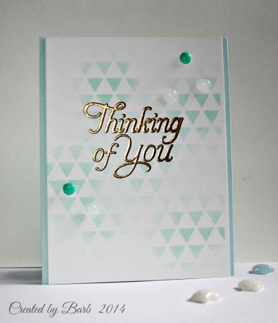 Thinking of You - DIY Enamel Dots