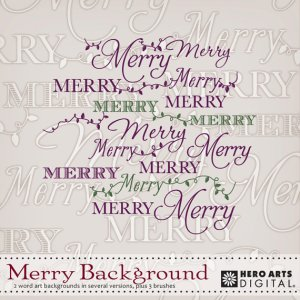 Merry Background