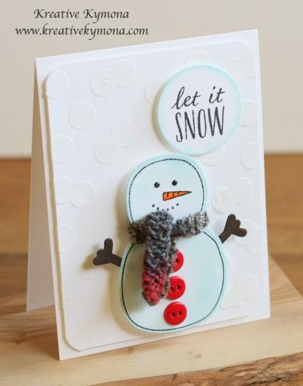 Snowman sideview