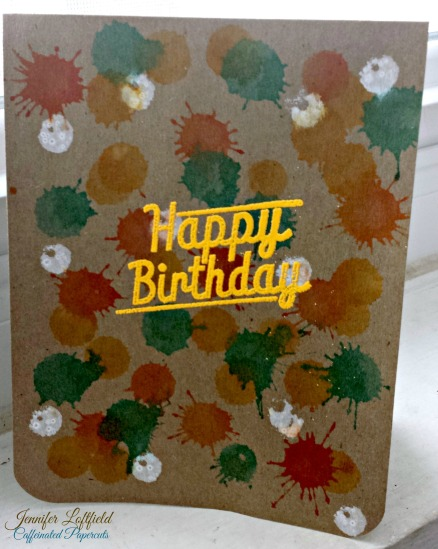 Dauber Birthday Card