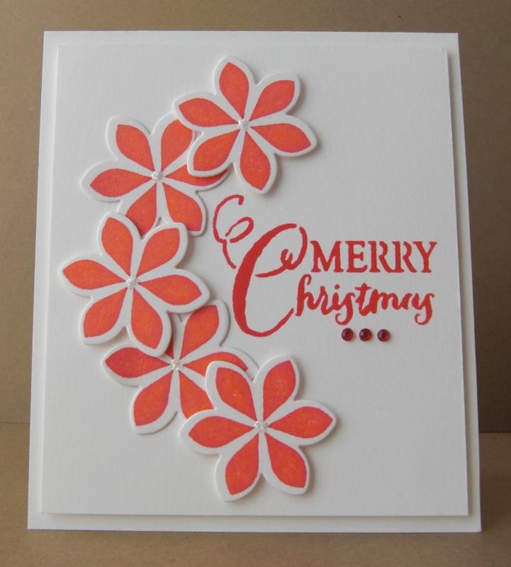 CAS Christmas Card   a2z Scrapbooking Supplies