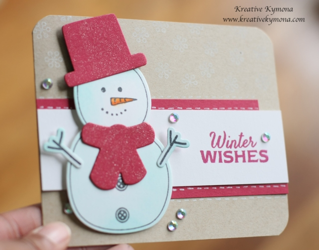 Warm Wishes close up