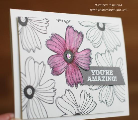 Your Amazing glitter flower