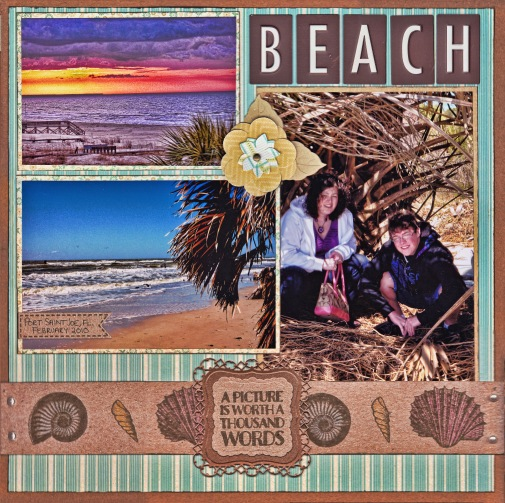 Beach Layout by Kristina