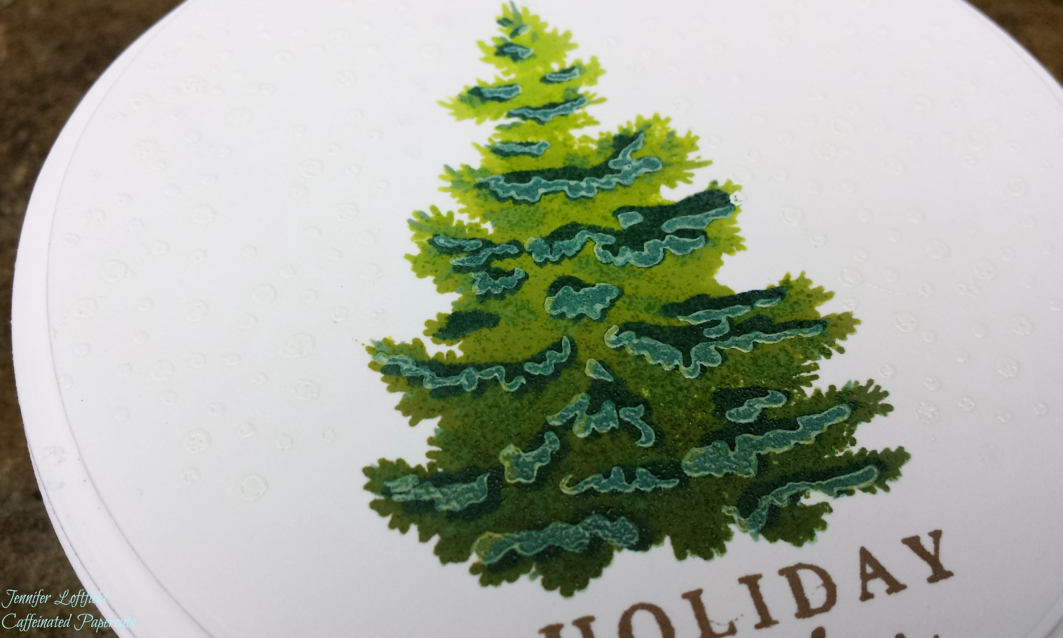 hero arts color layering christmas tree | a2z Scrapbooking Supplies