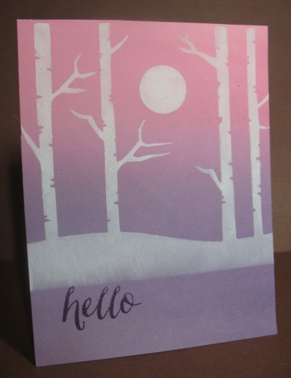 a2z Fall Pink to Lavender Scene Stencil Oct 2015