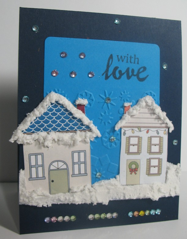 a2z Xmas Pasted Houses Aug