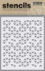 Triangle Patterned Stencil SA059