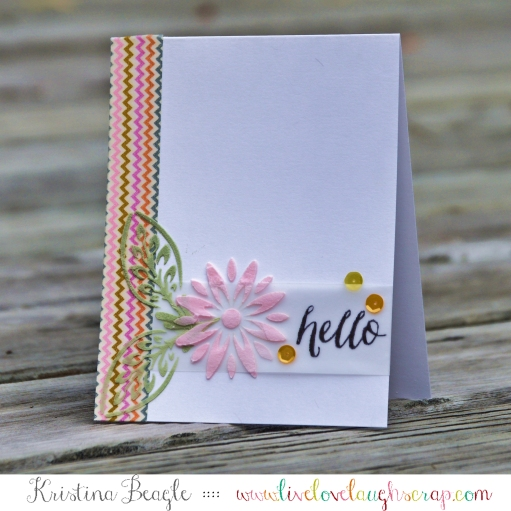 Hello Card by Kristina