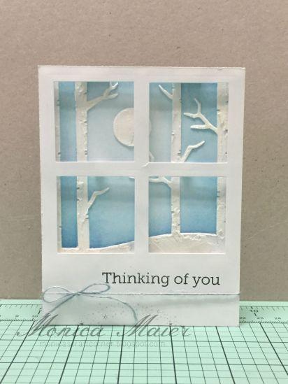 window thinking of you