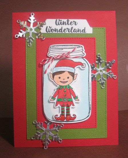 A2Z Elf in Bottle with Snowflakes Dec 2015