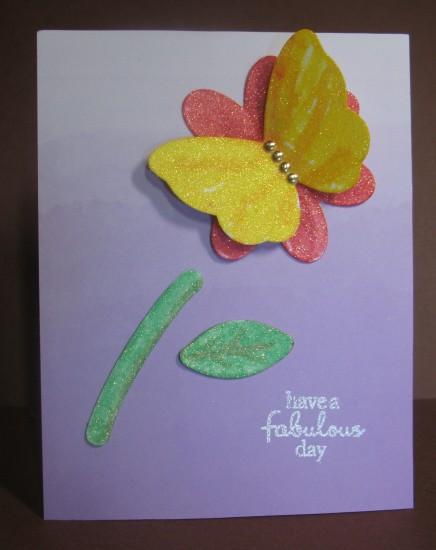 a2z Glitter butterfly Flower Jan 2016