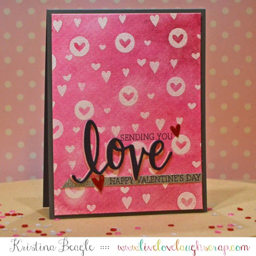 Love Stamp and Cut