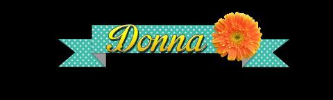 Donna name badge