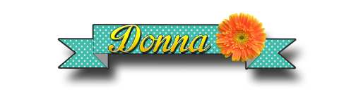 Donna name badge