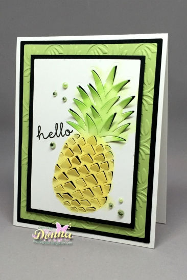 Hero Arts Pinapple Die_March