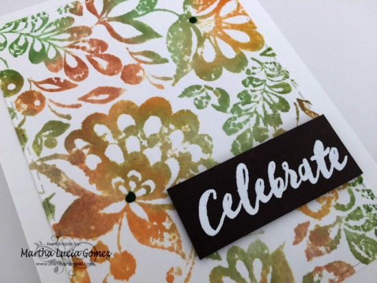 Celebrate with Large Floral
