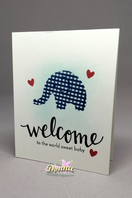 Hero Arts - Little One Baby Clear Stamps