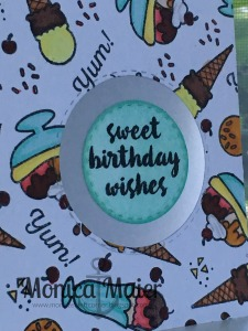 sweet birthday close up