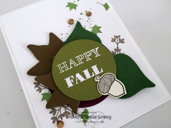 Autumn Frame Cuts Card Inspiration
