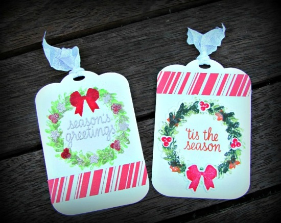 Wreath Tags