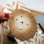 Hero Arts Paper Layering Hedgehog