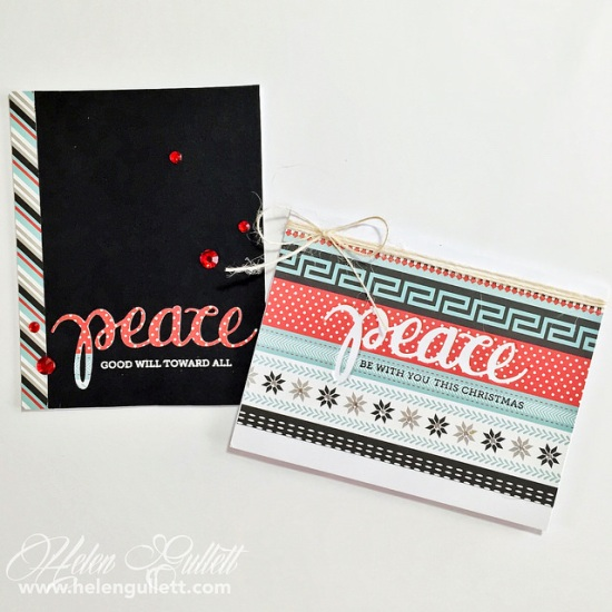 Hero Arts Two Way With Peace Stamp and Cuts Set