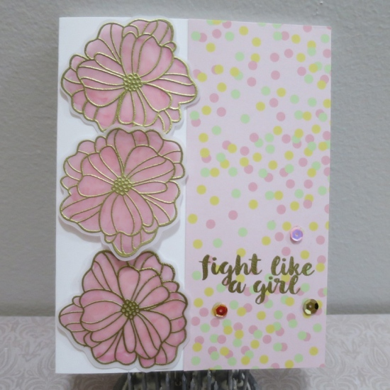Uses Hero Arts Happy Mother's Day and Dare to Dream stamp sets.