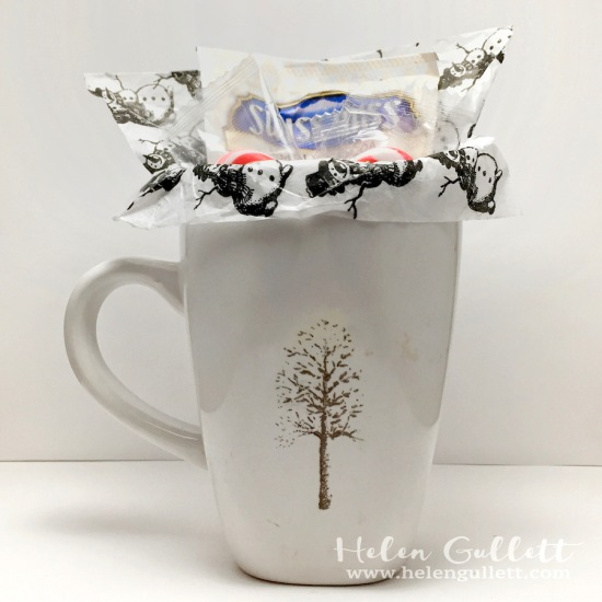 DIY Mug Gift with Hero Arts - Vintage Christmas Wishes stamp set