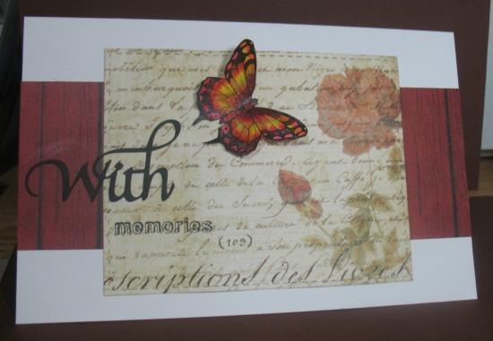 Hero Arts Winged Friends Butterfly Kit