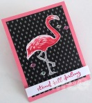 COLOR LAYERING FLAMINGO SENTIMENT