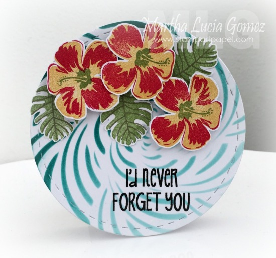 I'd Never Forget You a2z Scrapbooking Supplies and Hero Arts
