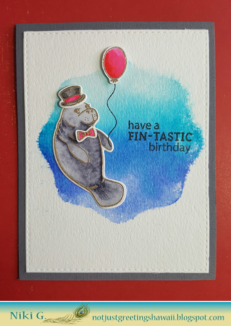 Hero Arts Fintastic Birthday
