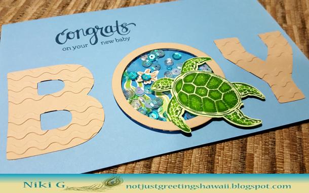 Hero Arts Color Layering Sea Turtle