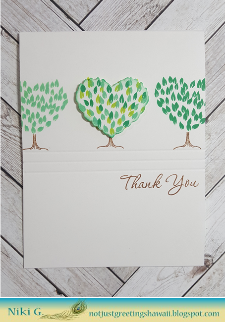 Topiary Thank You with Hero Arts