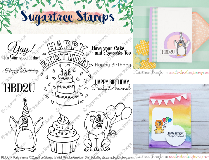 Birthday Stamps Digital Stamps