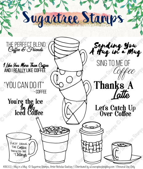 Coffee Digital Stamps