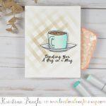 Sugartree Stamps Hug in a Mug