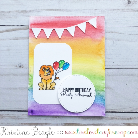 Party Animal Sugartree Stamps