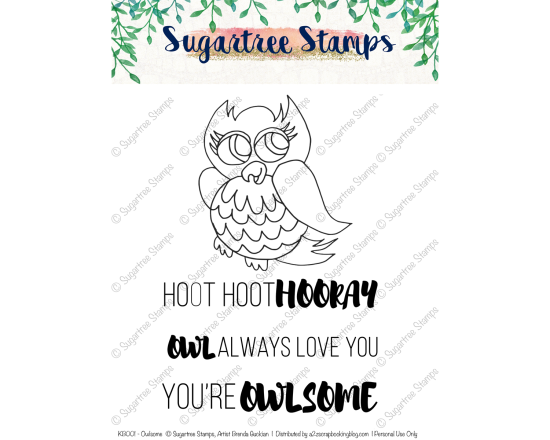 Sugartree Stamps Owlsome