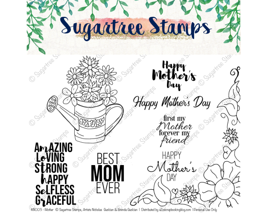Mothers Day Digital Stamps