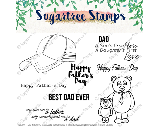 Sugartree Stamps Fathers Day