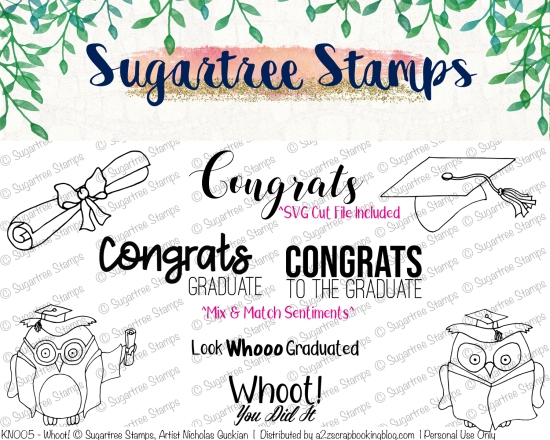 Graduation Digital Stamps