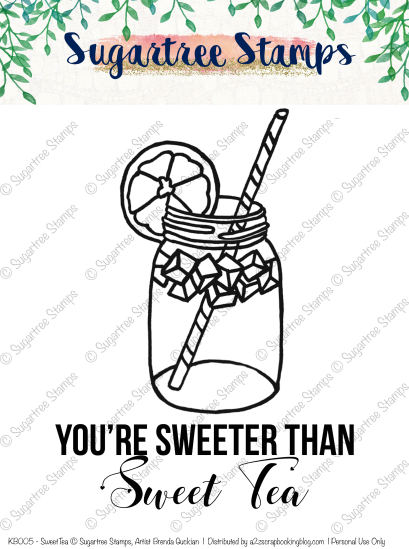 Sweet Tea Digital Stamp