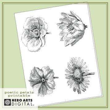 poetic petals digi