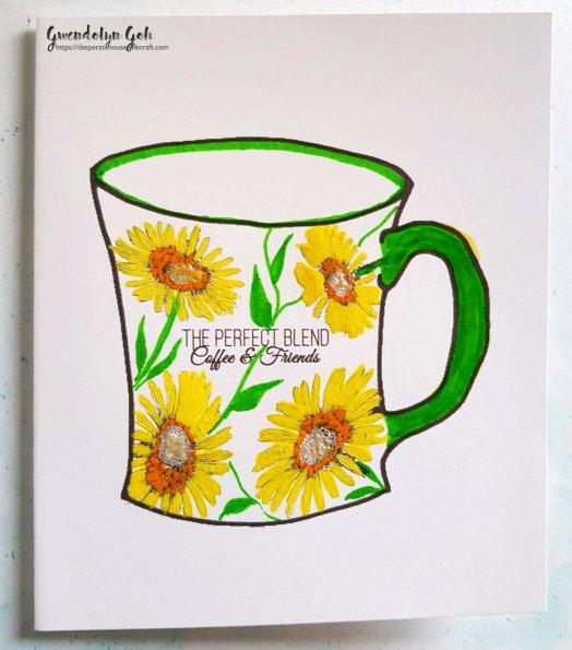 sunflower mug cu