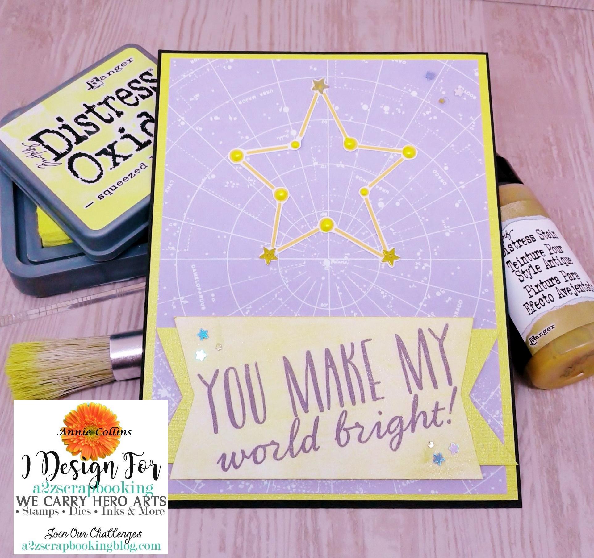 You Make My World Bright Card 2