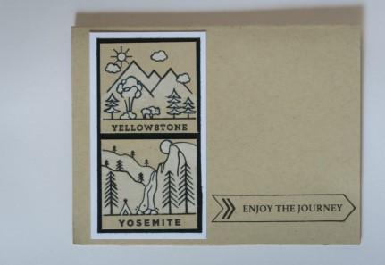 Hero Arts National Parks Poetic Prints