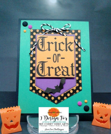 Trick or Treat Card (Spooky Labels)